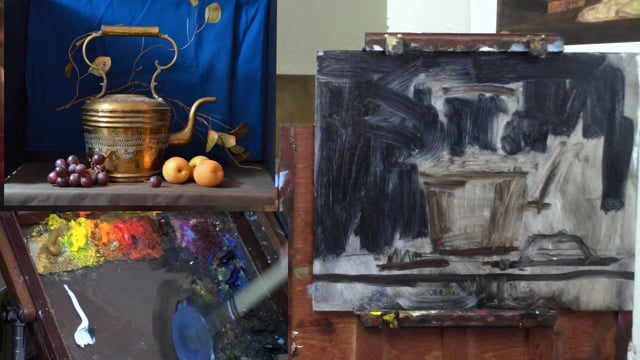 Painting Brass Pitcher Featured Image