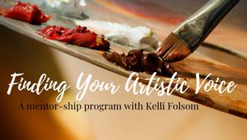 Artist Mentor Program Kelli Folsom