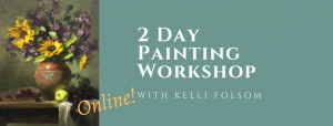 2 Day Painting Workshop with Kelli Folsom Banner Image