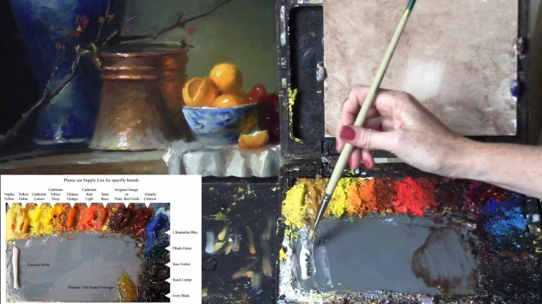 Oil Painting For Beginners Lesson 2 - Understanding Your Pigments