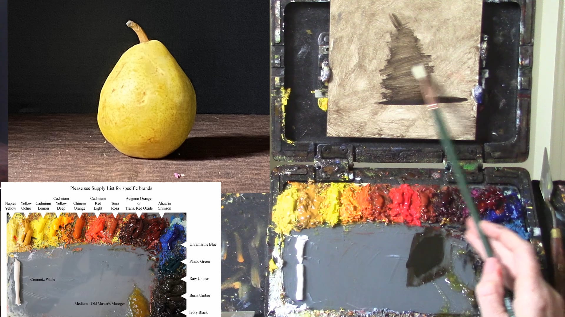 Oil Painting For Beginners Lesson 4 - Creating Form