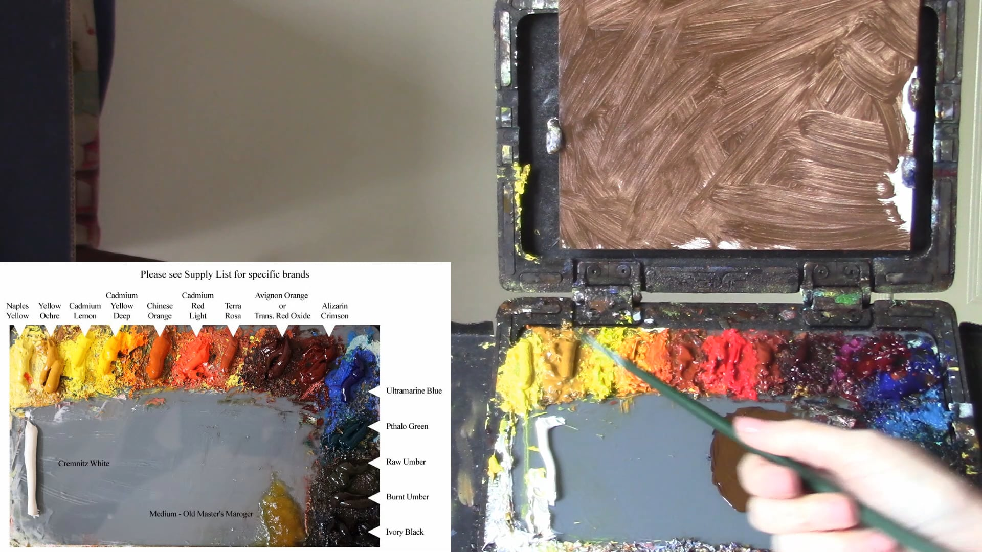 Oil Painting For Beginners Lesson 6 - Color Mixing the Kelli Way