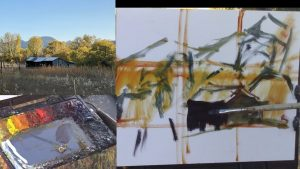 Plein Air with Kelli - Fall in Colorado Series - The Old Shed