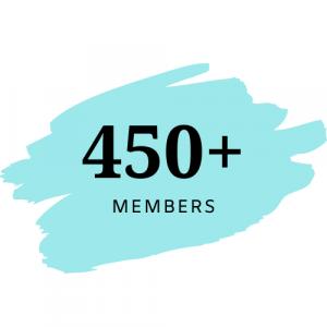 450+ Members